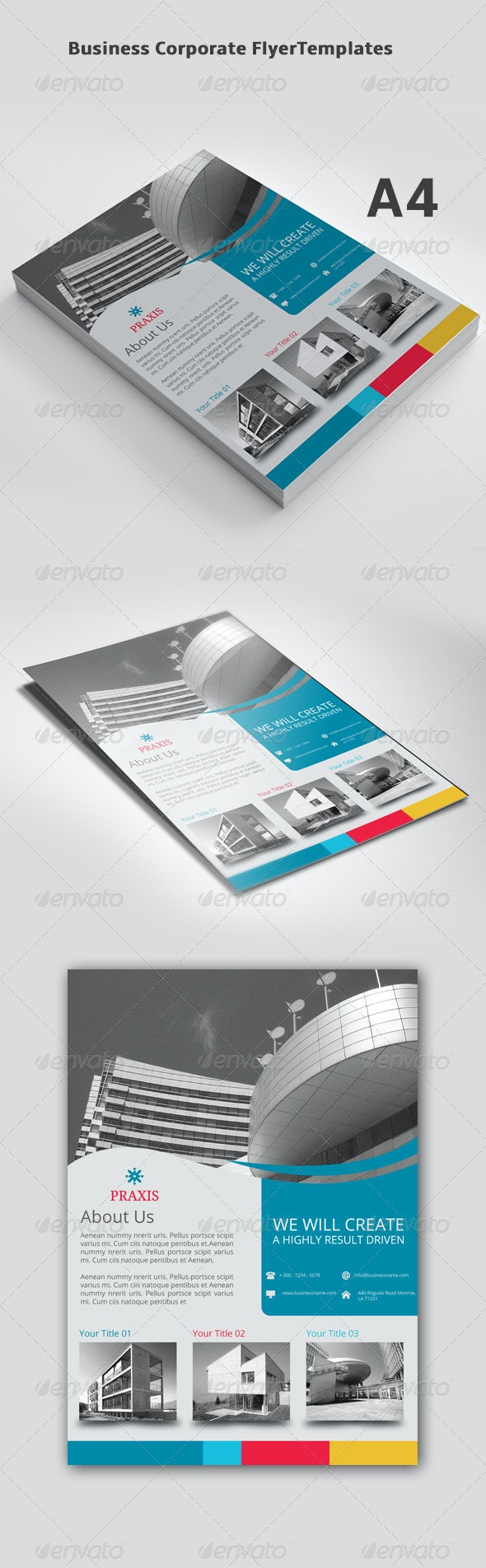 Business Corporate Flyer Templates  - Corporate Flyers