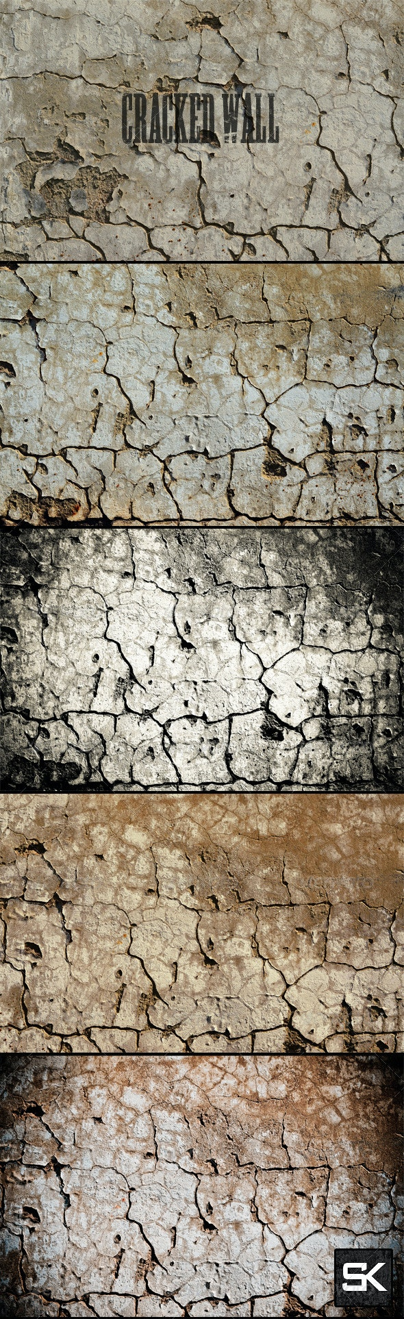 Cracked Wall - Industrial / Grunge Textures