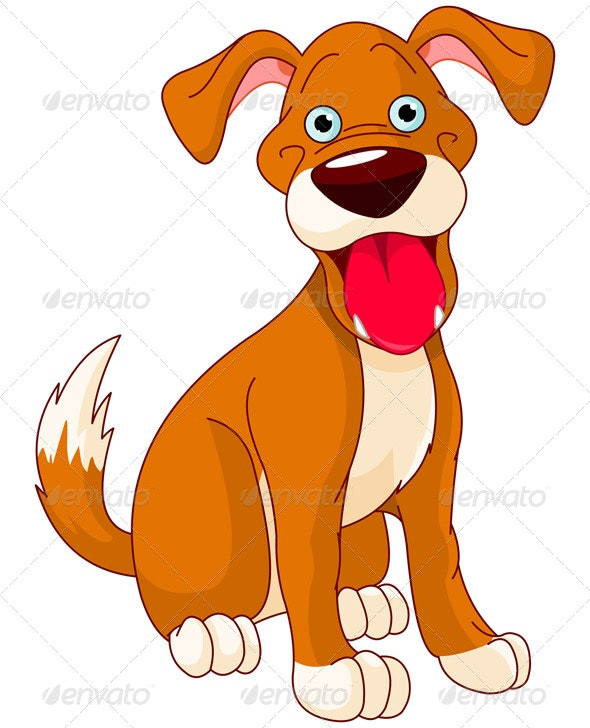 Smiling Dog - Animals Characters