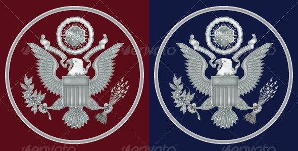 Seal of the United States - Decorative Symbols Decorative