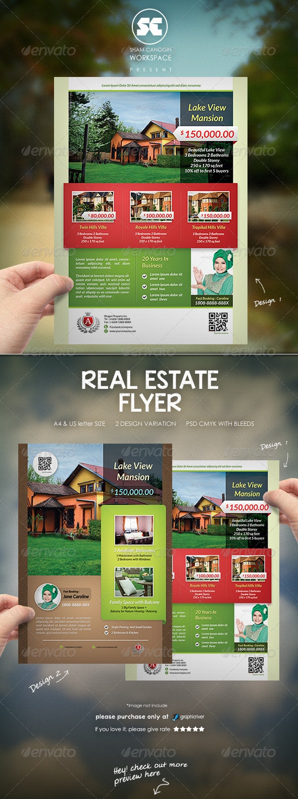 Real Estate Flyer / Magazine Ads - Corporate Flyers