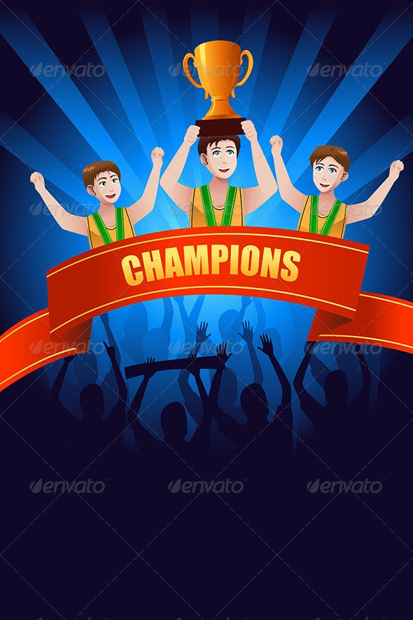 Champions Poster - Sports/Activity Conceptual