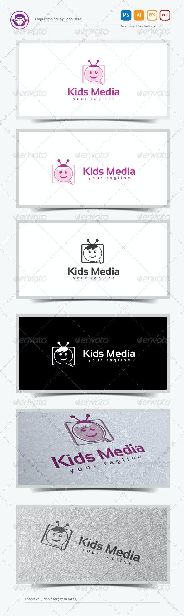 Kids Media Logo Template - Objects Logo Templates