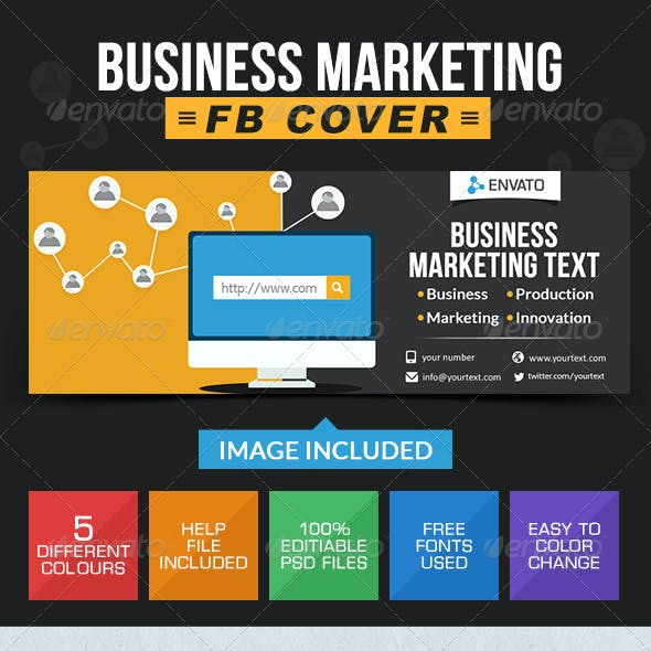 Business & Marketing FB Cover