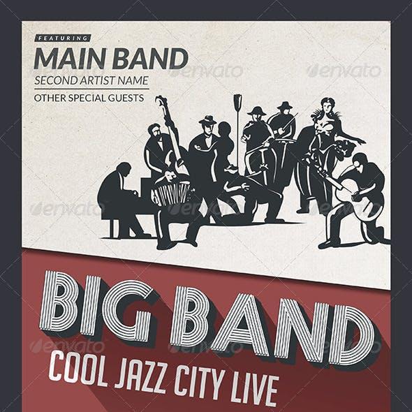 Big Band Jazz Flyer