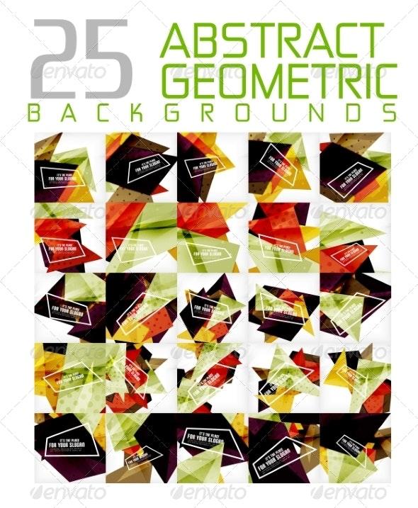 Mega Colleciton of Futuristic Backgrounds - Miscellaneous Vectors