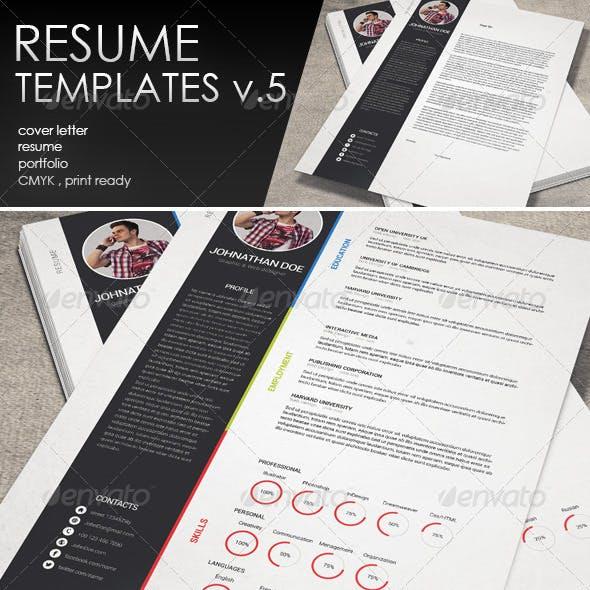 Resume CV Template-V.5