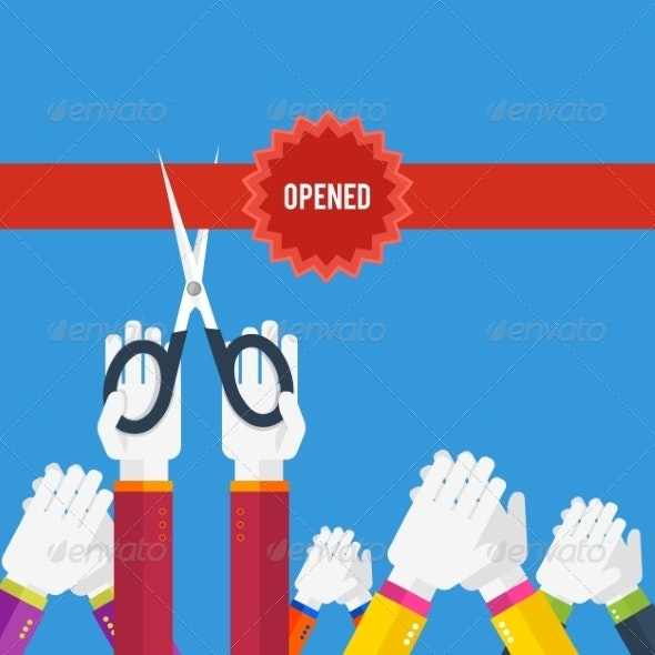 Grand Opening - Concepts Business