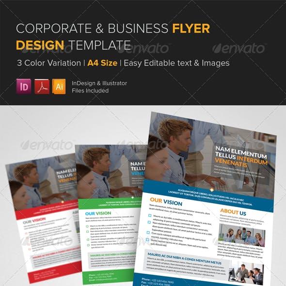 Corporate Multipurpose Flyer Template