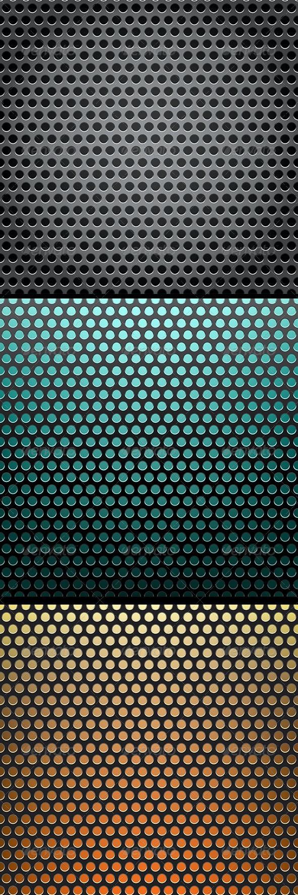 Metal Grid Background - Backgrounds Decorative