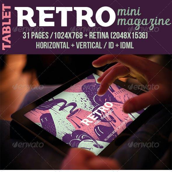 iPad & Tablet Retro Mini Magazine
