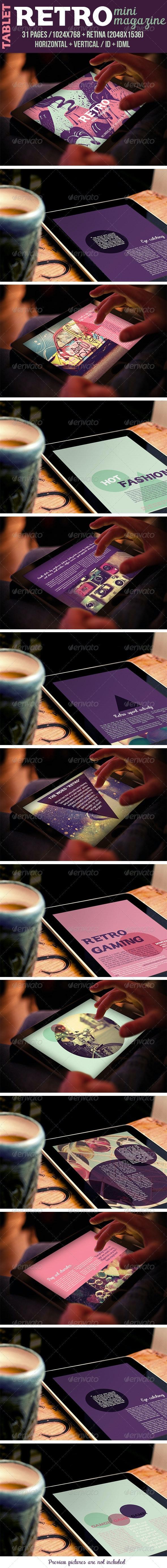 iPad & Tablet Retro Mini Magazine - Digital Magazines ePublishing