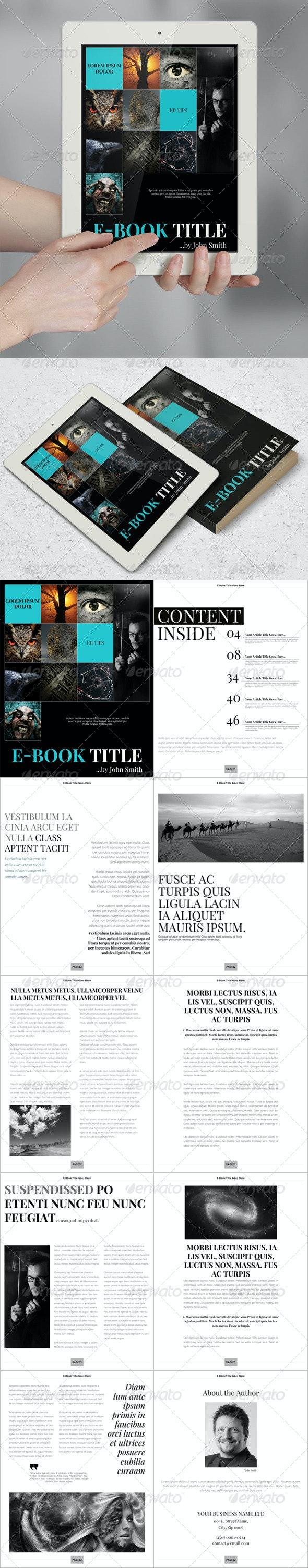 E-Book Template - Digital Books ePublishing