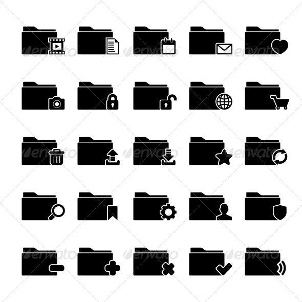 Folder Icon - Media Icons