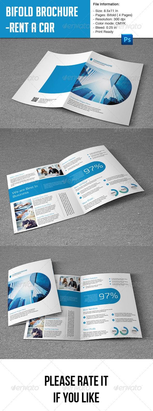 Flexible Bifold Brochure for Business - Corporate Brochures