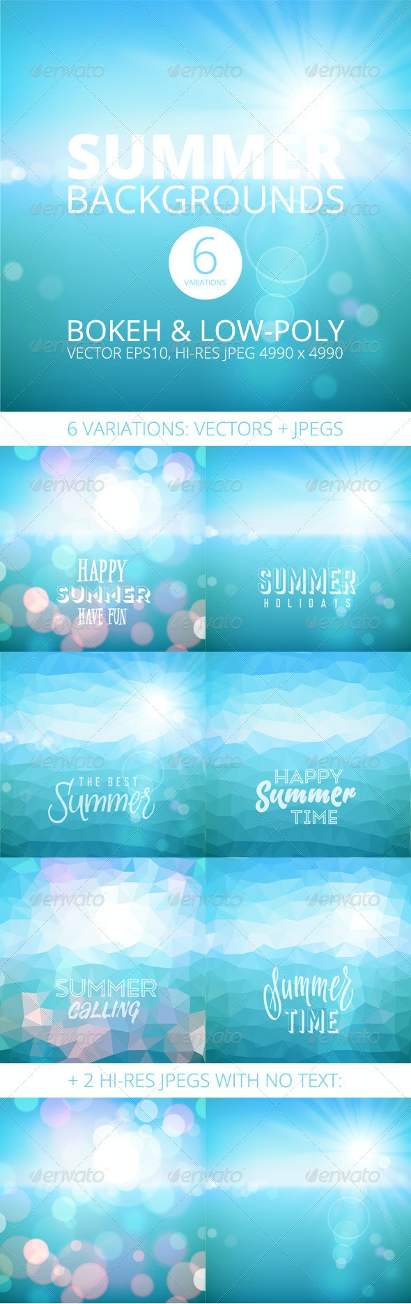 Summer Holiday Tropical Beach Background - Travel Conceptual