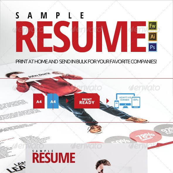 Sample PS Resume