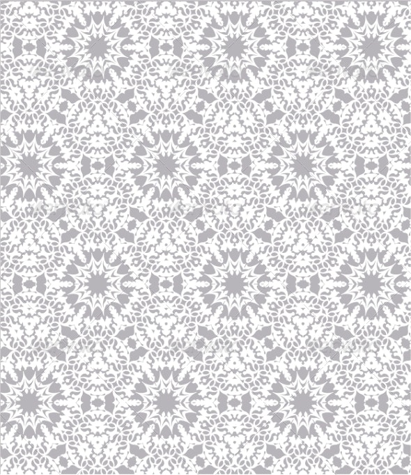 White Lace Pattern - Patterns Decorative
