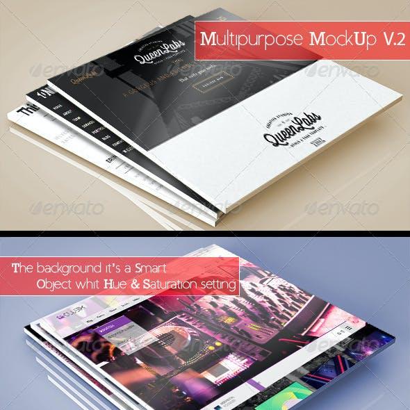 3D Multipurpose MockUp V.2