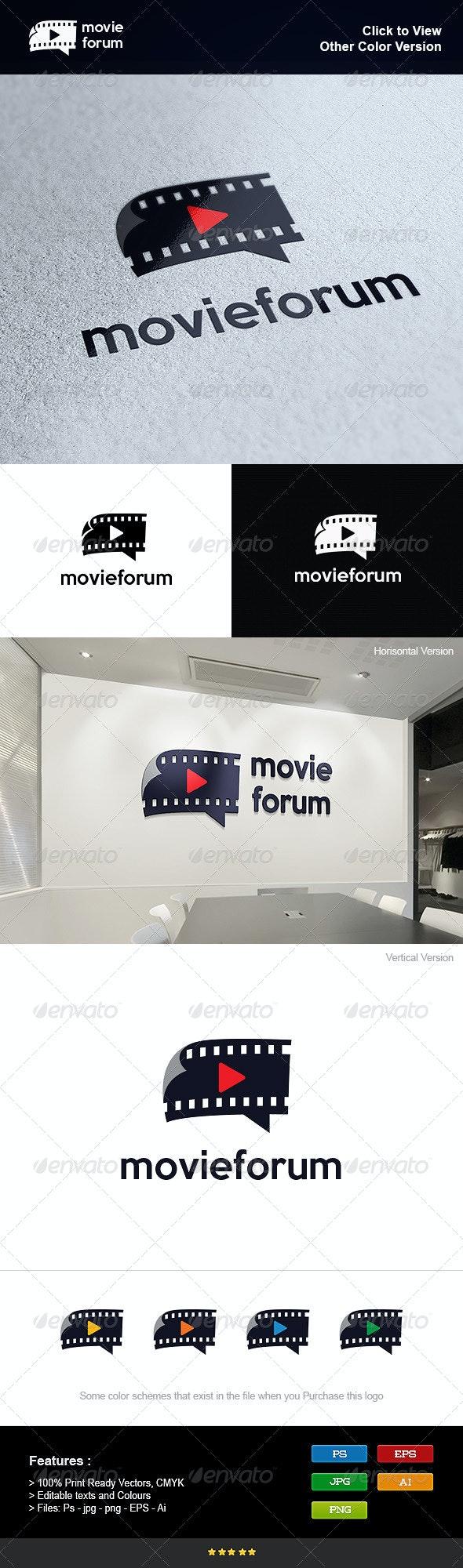 Movie Forum Logo - Objects Logo Templates