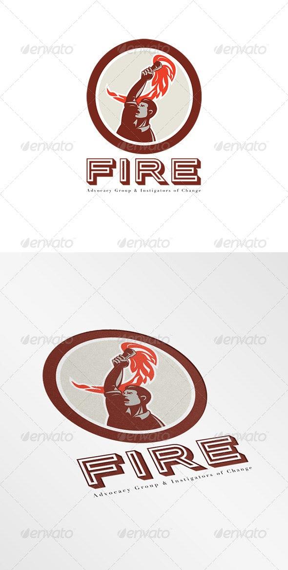 Fire Advocacy Group Logo - Humans Logo Templates
