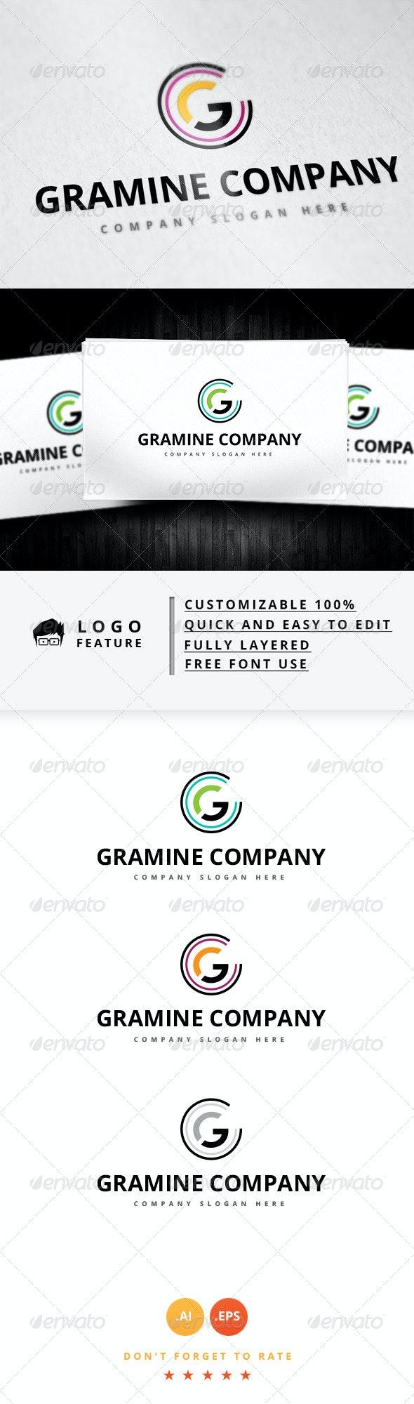 Gramine Company Logo - Symbols Logo Templates