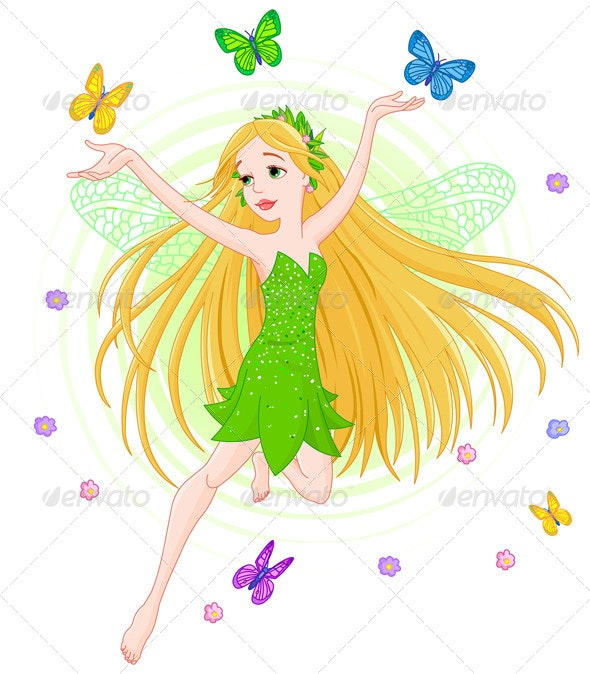 Spring Fairy - People Characters