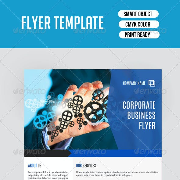 Corporate Flyer Template-V83