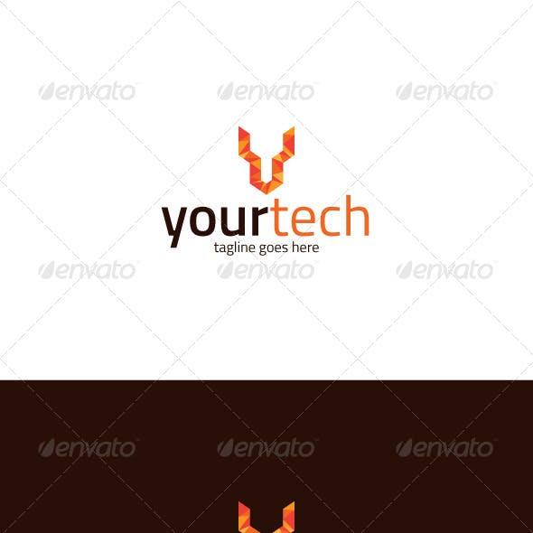 Your Tech Logo — Letter Y