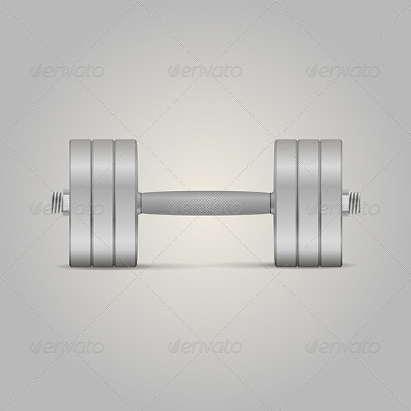 Dumbbell - Sports/Activity Conceptual