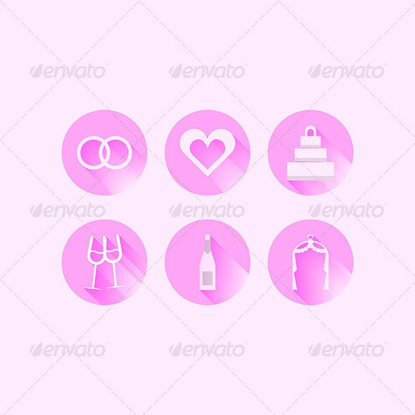 Wedding Icons - Weddings Seasons/Holidays