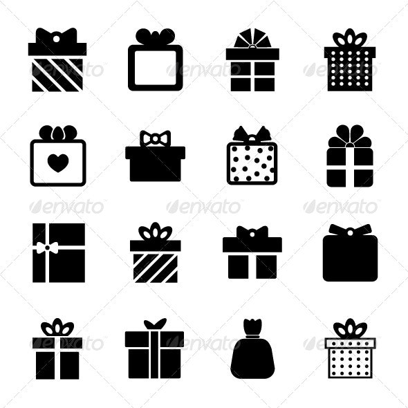 Gift Box Icon - Objects Icons