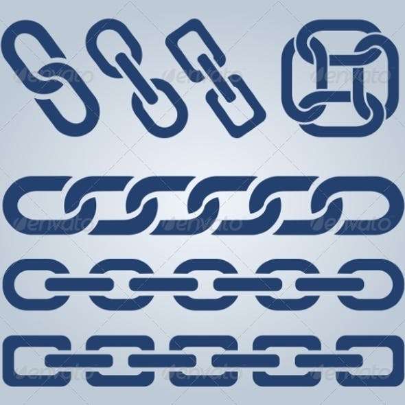 Set of Chain Icons