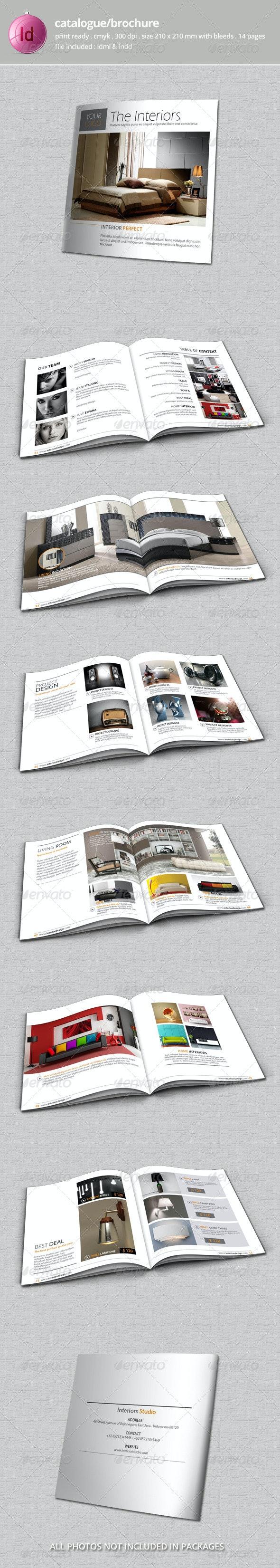 Catalogue / Bochure Template - Catalogs Brochures