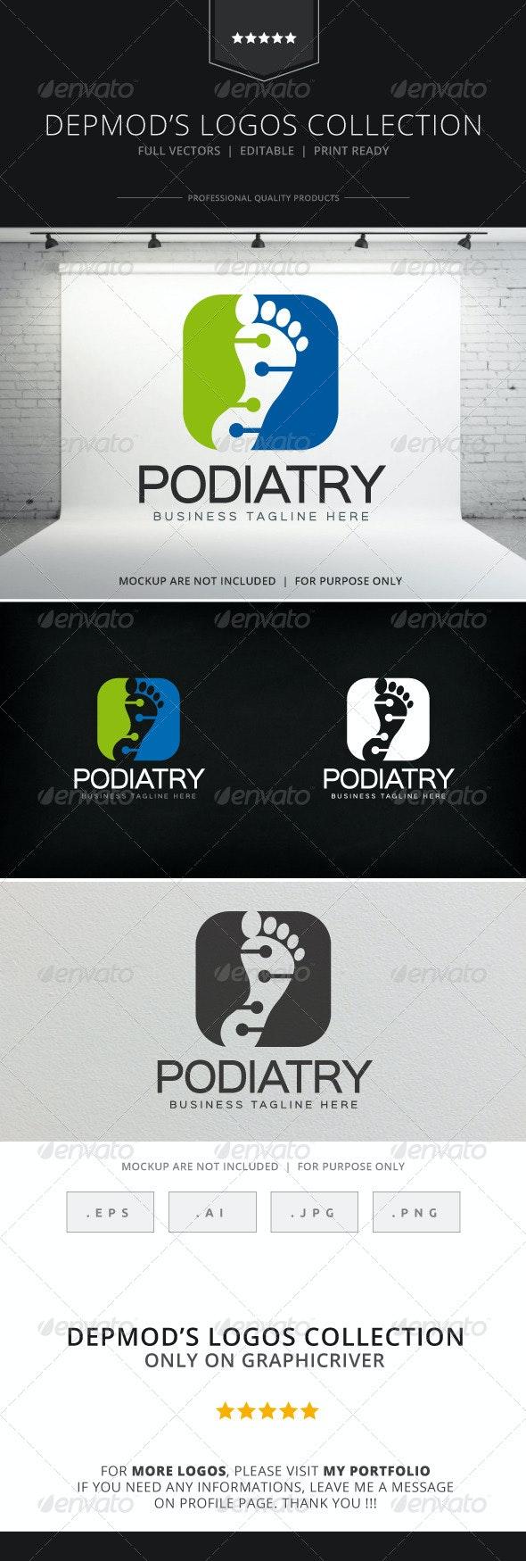 Podiatry Logo - Humans Logo Templates