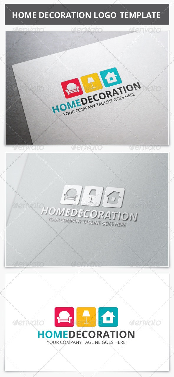 Home Decoration Logo - Vector Abstract
