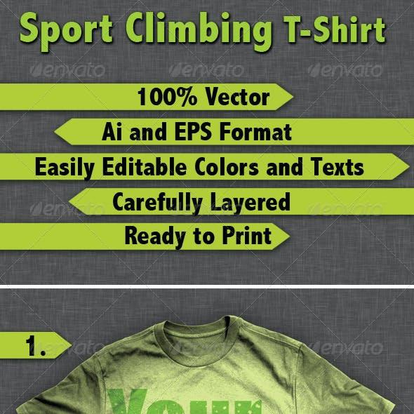 Sport Climbing T-Shirt