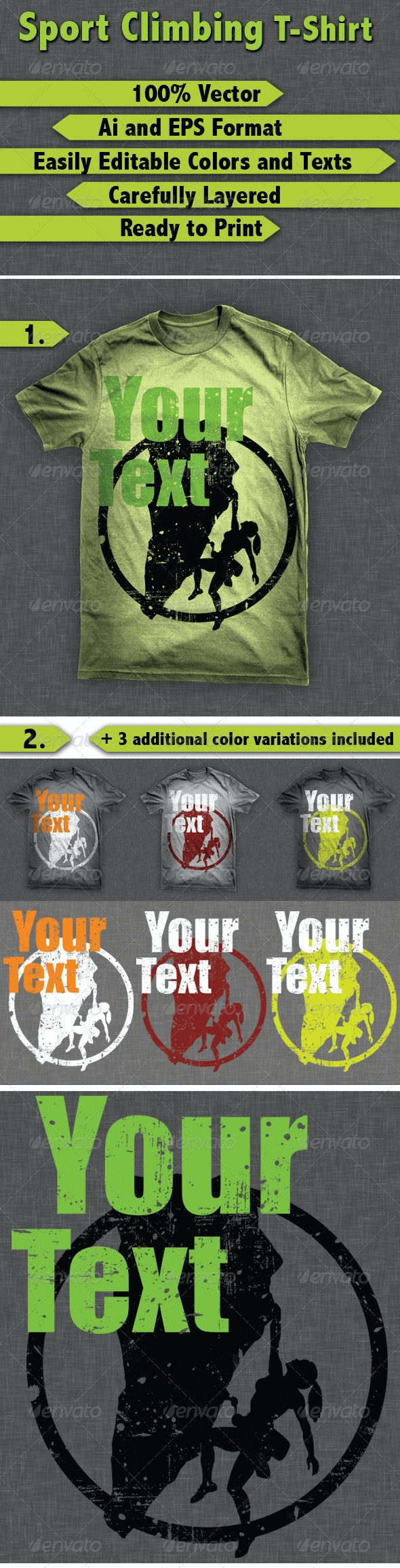 Sport Climbing T-Shirt - T-Shirts