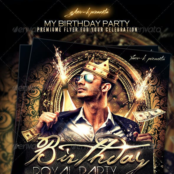 My Birthday/Bachelor Party Invitation