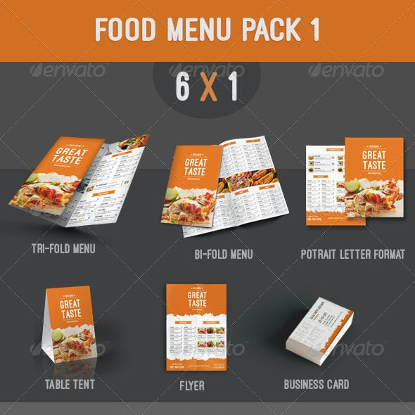 Food Menu Pack 1