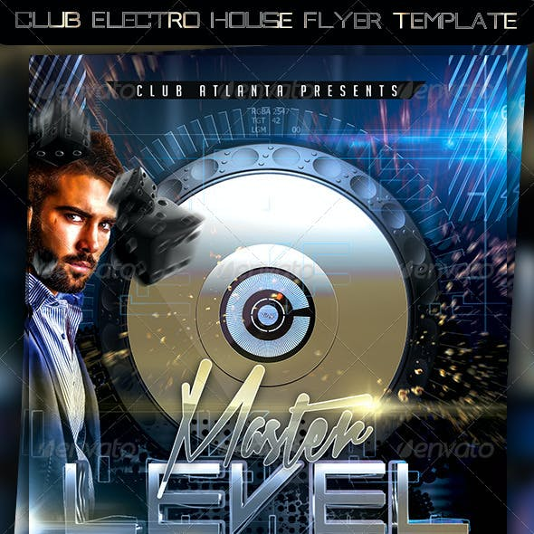 Club Electro House Flyer Template
