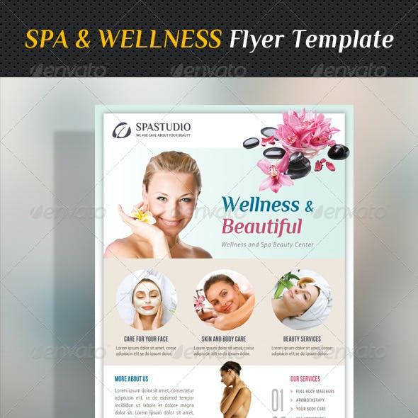 Spa Studio Flyer 28