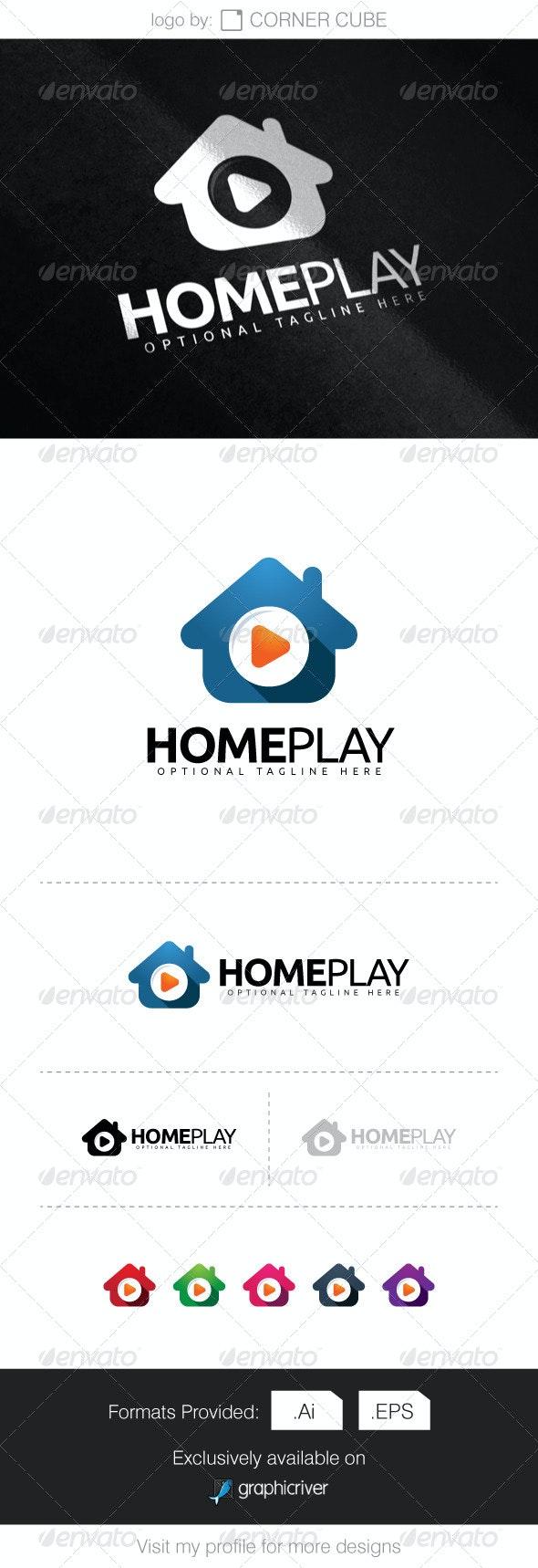 Home Play Logo - Logo Templates
