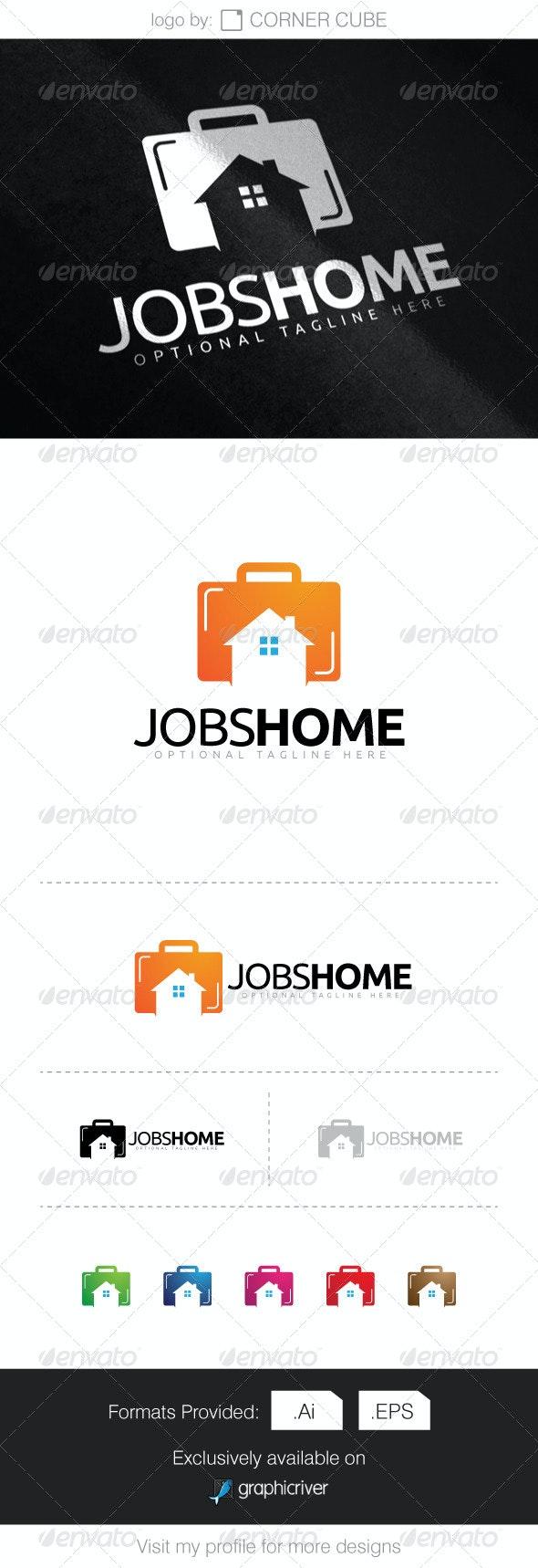 Jobs Home Logo - Logo Templates