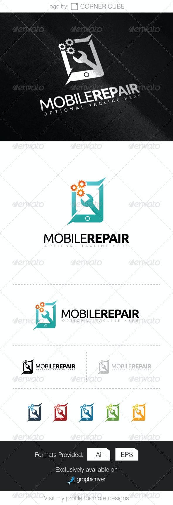 Mobile Repair Logo - Logo Templates