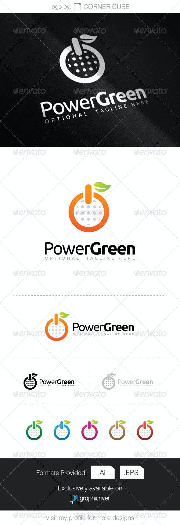 Power Green Logo - Logo Templates