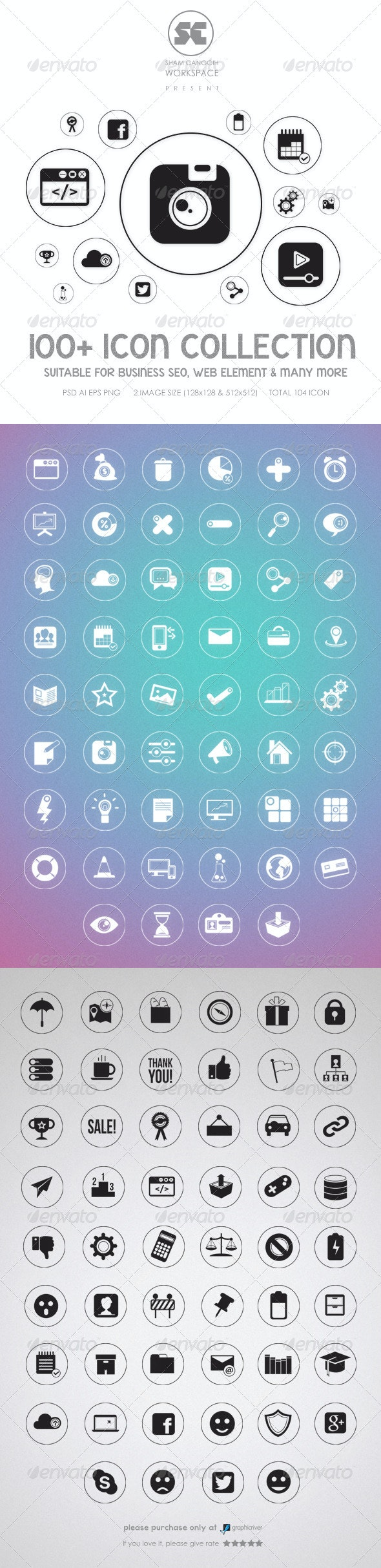 Flat Icons - Miscellaneous Icons