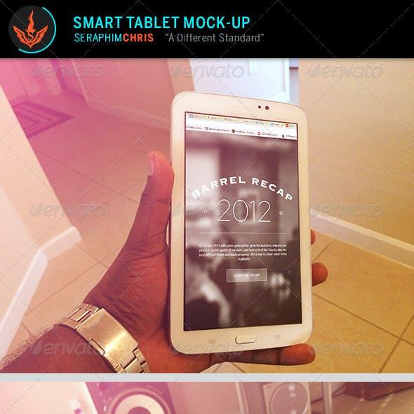 Smart Tablet Mock Up Template