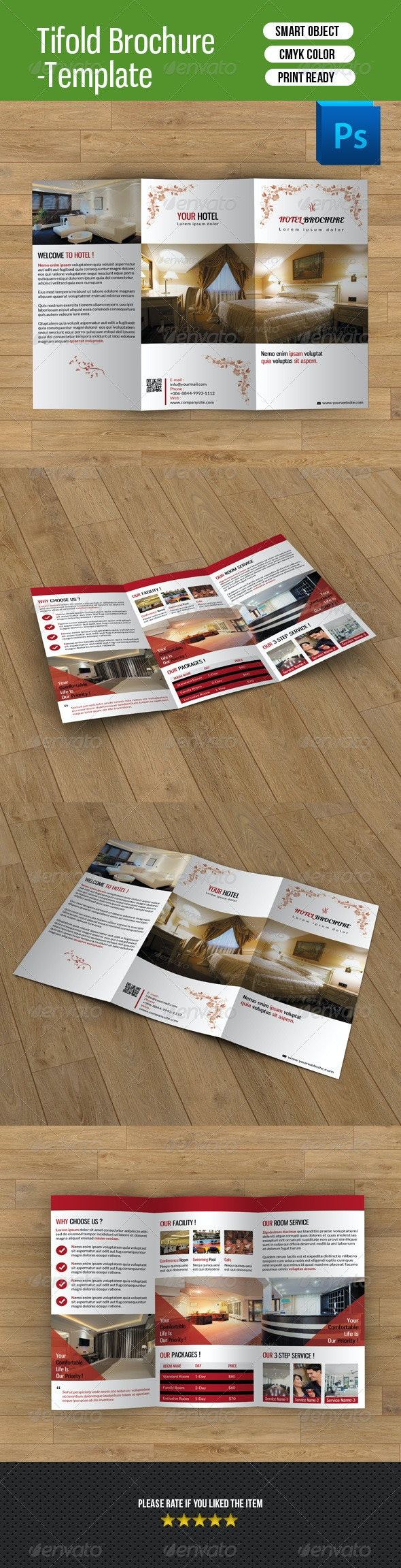 Hotel Business Trifold-V34 - Corporate Brochures