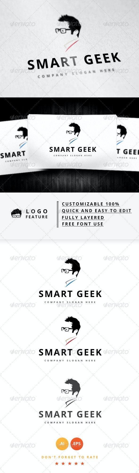 Smart Geek - Logo Templates